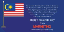 Happy Malaysia Day from MARKETING