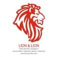 lion and lion logo thumbsize