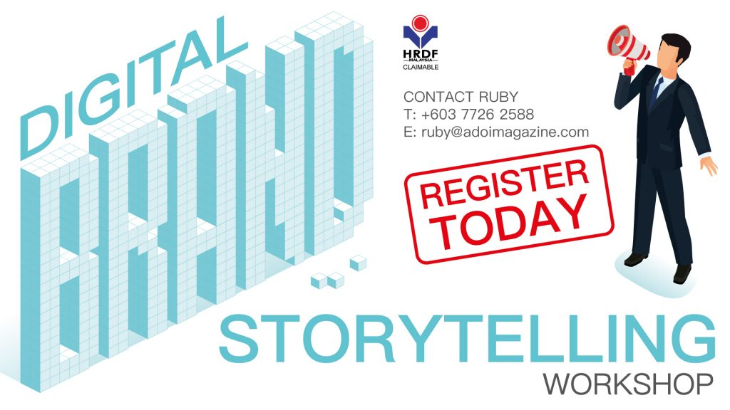 It all started with a story   Marketing Magazine Asia