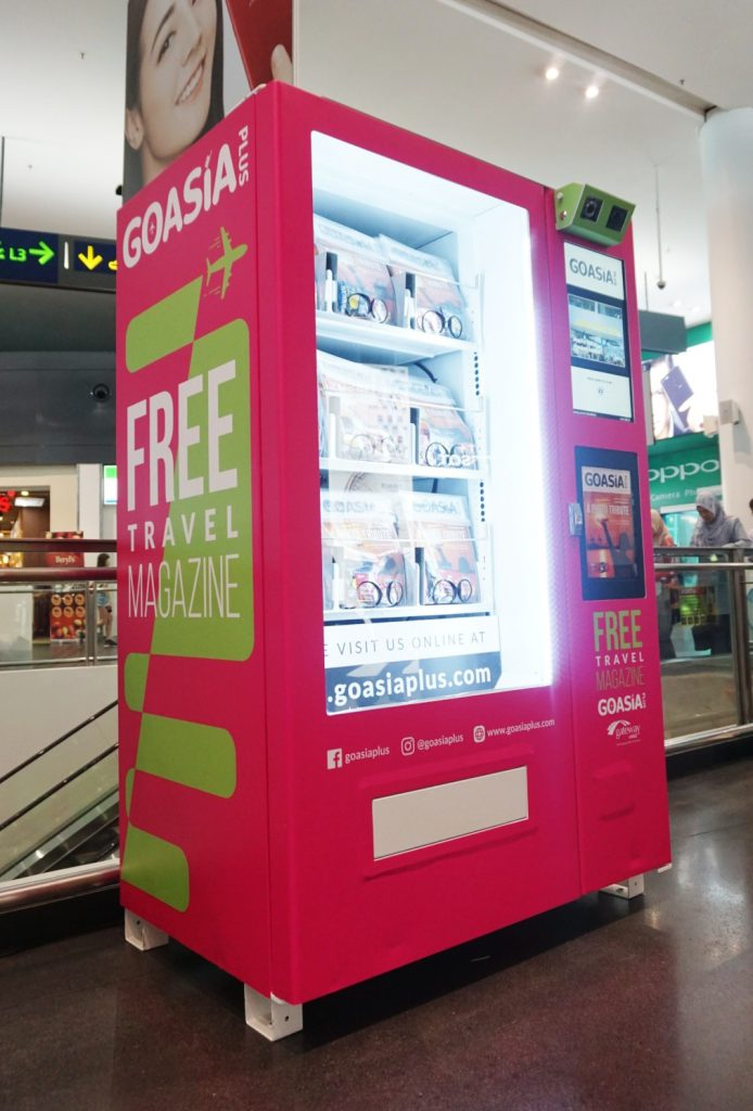 Would you buy your magazine from a vending machine ...