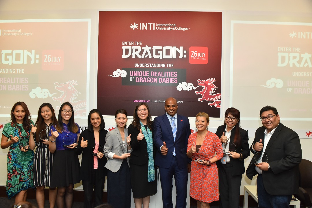 INTI survey reveals Dragon babies are driven to be successful in