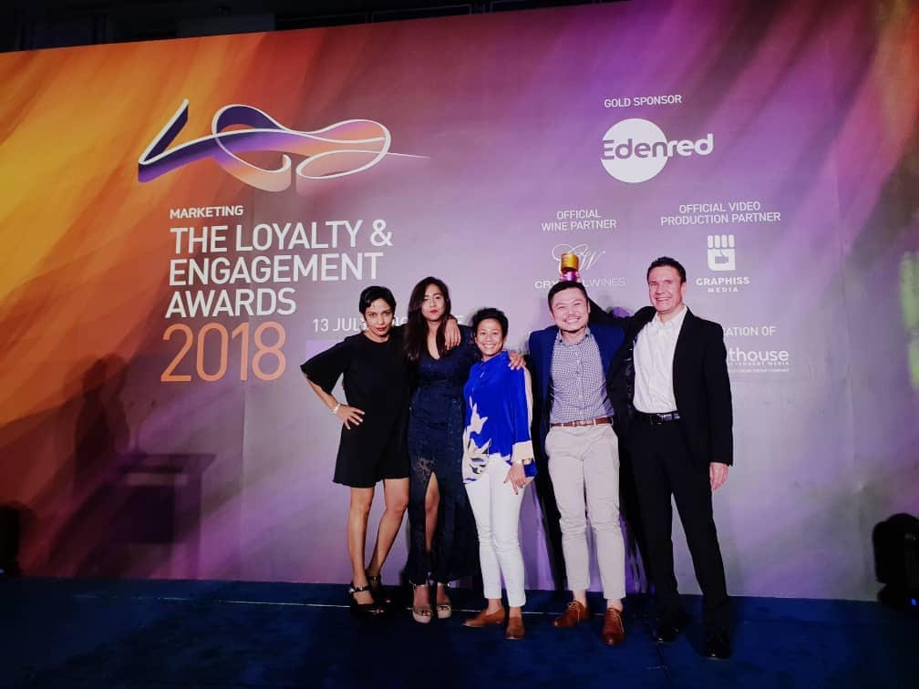 Edelman Malaysia scores a hattrick at the region's Loyalty & Engagement Awards.