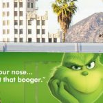 The Grinch marketing tactic scores with gleefully snarky billboards