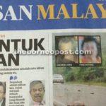 Umno to let go of Utusan Melayu