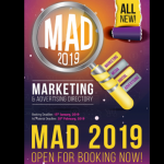 MAD 2019 is open for booking now
