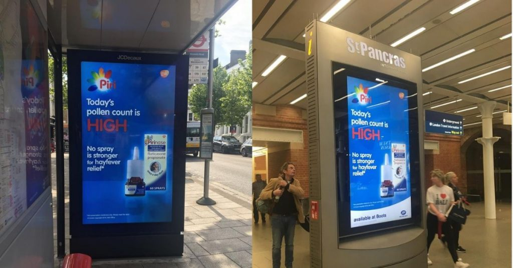 UK's first automated OOH