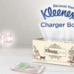 Charge your phone with a Kleenex tissue box