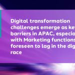 Digital transformation should be the primary focus of CMOs