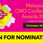 Malaysian CMO Awards 2019 Open for nominations