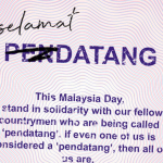 Standing United for the Love of Malaysia