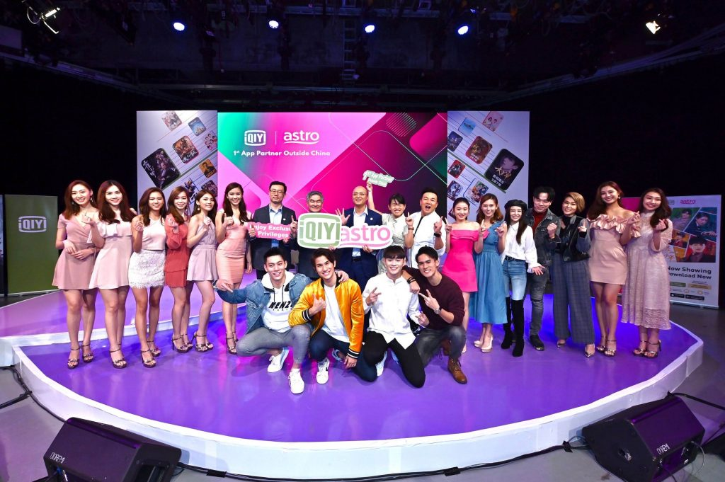 Group photo with Astro's Talents