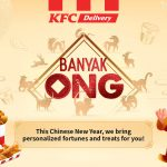 KFC turns food into blessings for CNY