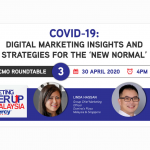 T-2 days left to register for CMO Roundtable 3 - Digital marketing insights and strategies for the 'new normal'