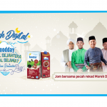 Join Goodday Milk Malaysia for a record-breaking virtual moreh session