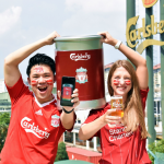 Carlsberg offers exclusive red kit to fans of the Champions of England
