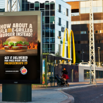Burger King Helsinki sets local McDonald's as pick-up points for free delivery