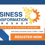Join our workshop on Business Transformation by a dynamic duo