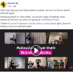 Fishermen Integrated and Nando's Malaysia workout-bombs fitness buffs with a tasty and healthy surprise