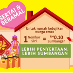 MAGGI's CNY campaign raises over RM 100k for elderly care homes