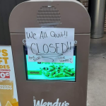 Paper signs on windows of fast-food restaurants pop up across US as workers allegedly quit