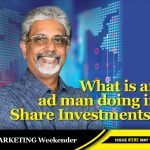 What is an ad man doing in Share Investments?