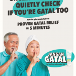 Your Maker has a problem with gatal old folks