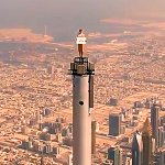 'Top of the World' - Emirates' stunt to remember